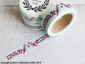 Masking tape With Love..., scandinavian deco