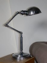 "Lamp articulated ""shell"" - Factory style - Chehoma"