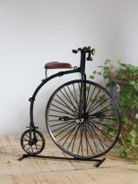 Metal model Grand-bi bike, vintage decor, Chehoma