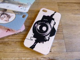 Coque iPhone 4 ou 4GS Photos, Les Invasions Ephémères