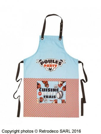 Apron Poules Party, gift idea, Natives
