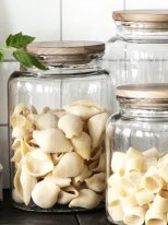 Glass jar with wooden lid 3000ml Ib Laursen