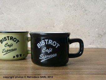 tasse expresso bistrot caf noire d co vintage antic line seb12952 5. Black Bedroom Furniture Sets. Home Design Ideas