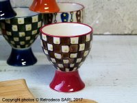 Ceramic egg cup Paragon (ref.2), Chehoma