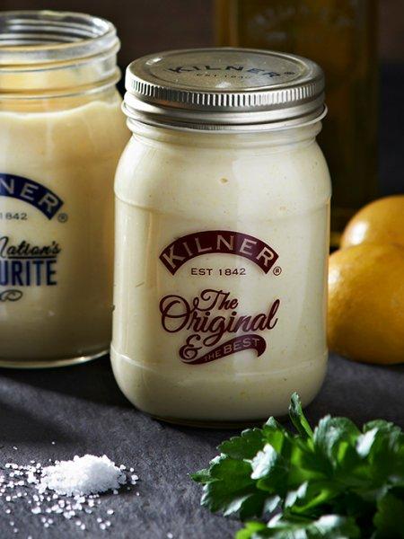 The Original and the Best preserve jar, Kilner, vintage style