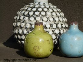 Mini ceramic vase green Chehoma