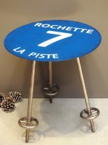 Complement table Piste bleue 7 Rochette, mountain decor