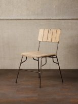Mango wooden slats chair, Chehoma
