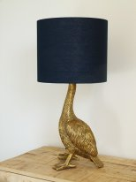 Antique gold lamp Howard with lampshade, antique style, Chehoma
