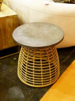 Garden table Mitan rattan imitation Hanjel