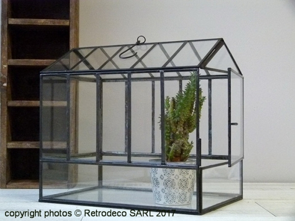 Mini serre de jardin ou terrarium House GM Chehoma