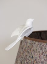White porcelain dove to be suspended Chehoma