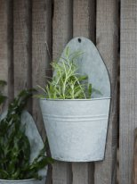 Small wall hanging pot PM, country decor, Ib Laursen