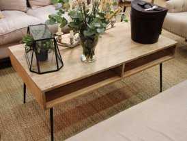 Table basse Space en manguier Chehoma
