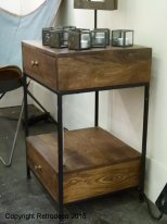 Mango nightstand Arabica with 2 drawers Chehoma