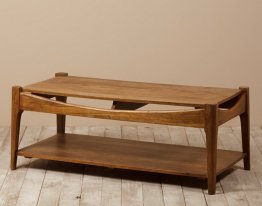 Table basse Alfons en manguier Chehoma