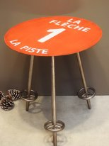 Complement table Piste rouge 1, mountain decor, Chehoma