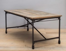Wooden table183 cm Chehoma, factory decor