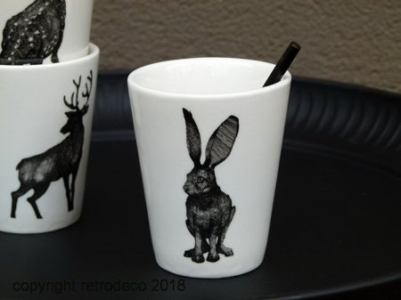 Expresso cup Secret Forest Hare Chehoma
