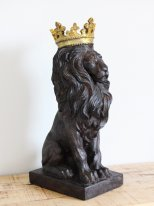 Resin deco Lion King, animal decor, Chehoma