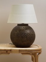 Hammered brown lamp Chehoma