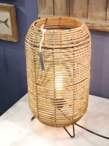 Natural rattan light Vannes, country decor, Chehoma