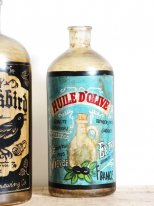 Bottle Huile d'olive, antique style, Chehoma