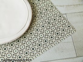 Placemat mastic pattern Sphere Inter