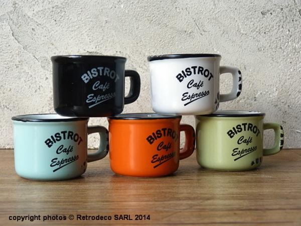 Tasses A Cafe Retro