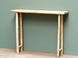 Rough lumber console Archipel, natural style, Chehoma