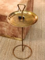 Brass metal complement table Chehoma