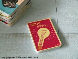 Pocket size notebook Vintage (réf.1), vintage deco