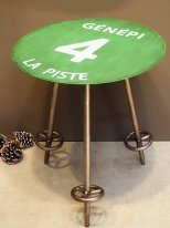 Complement table Piste verte 4 Génépi, mountain decor, Chehoma