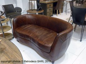 Brown leather Rondo Hanjel