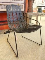 Black rattan chair Laos Chehoma