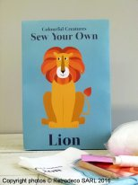 Kit Sew you own Lion, gift idea