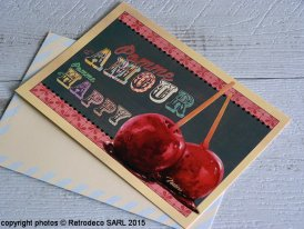 Postcard Pomme d'Amour, Natives