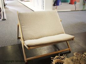 Two places bench seat deckchair Sierra Chehoma