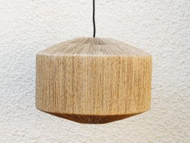 Suspension Natram jute, déco naturelle, Athezza