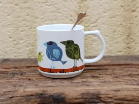 Mug porcelaine Birds Family David Weidman