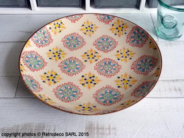 Assiette Plate Bohemian Multicolore, Chehoma [63913270_2]
