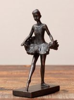 Resin ballerina, cosy decor, Chehoma