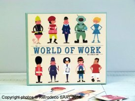 Mix and match World of Work cards, Rex International