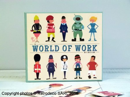 Jeu de cartes World of Work, Rex International