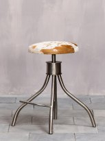 Stool cow, deco mountain, Chehoma