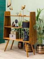Mango bookcase Charing Cross, vintage style, Chehoma