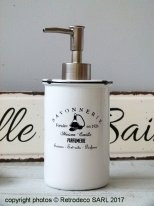 Ceramic soap dispenser Savonnerie Antic Line
