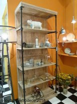Wooden and metal shelves Carnot, Chehoma
