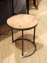 Wooden and metal complement table Chehoma