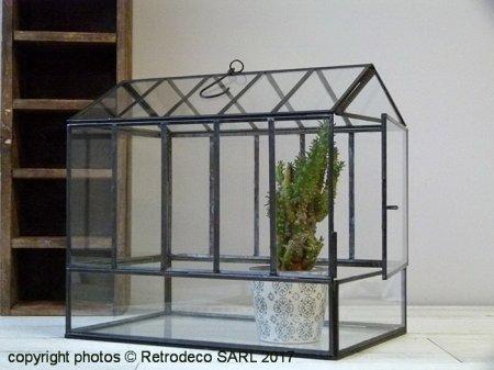 Mini serre de jardin ou terrarium House GM Chehoma [20838]